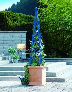 rankhilfe obelisk selber bauen