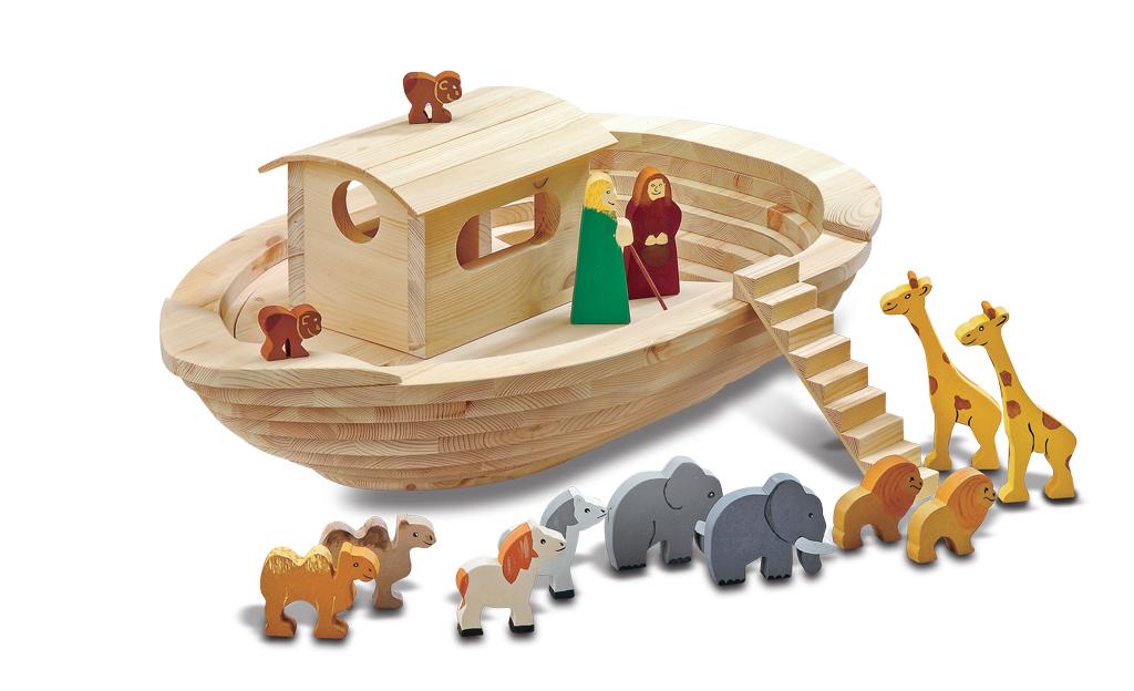 Arche Noah Holz Spielzeug Selbst De