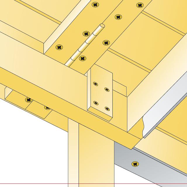 Klapptisch | Klapp-möbel | Selbst.de Klapptisch Balkon Selber Bauen
