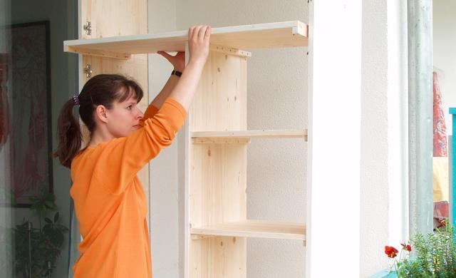 Balkonschrank bauen