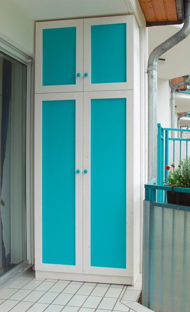 balkonschrank. Black Bedroom Furniture Sets. Home Design Ideas