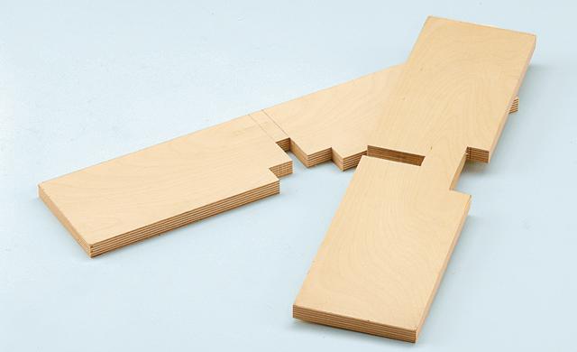 Stützkreuz bauen
