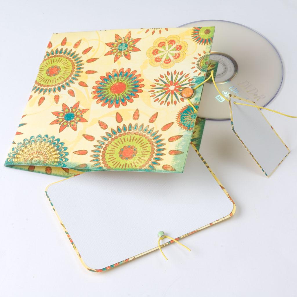 CD-Hülle beschriften