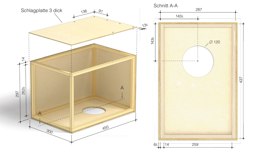 caj n selber bauen hobby freizeit. Black Bedroom Furniture Sets. Home Design Ideas