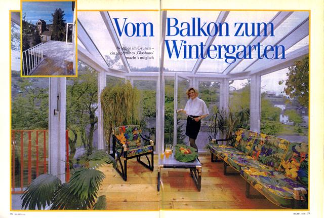 Wintergarten anbauen