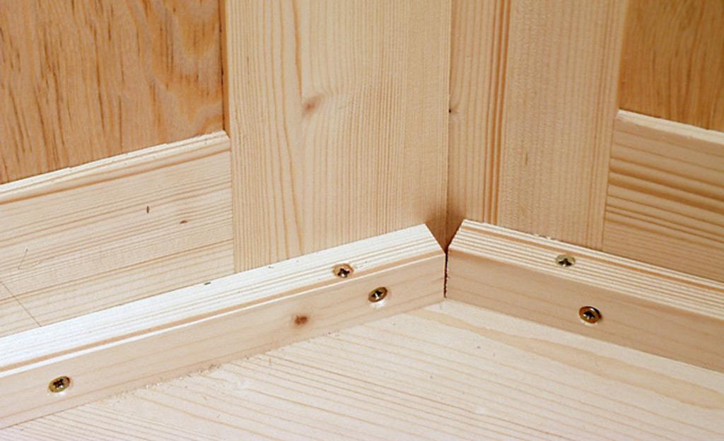 eckschrank mit tisch bauen holzarbeiten m bel bild 16. Black Bedroom Furniture Sets. Home Design Ideas