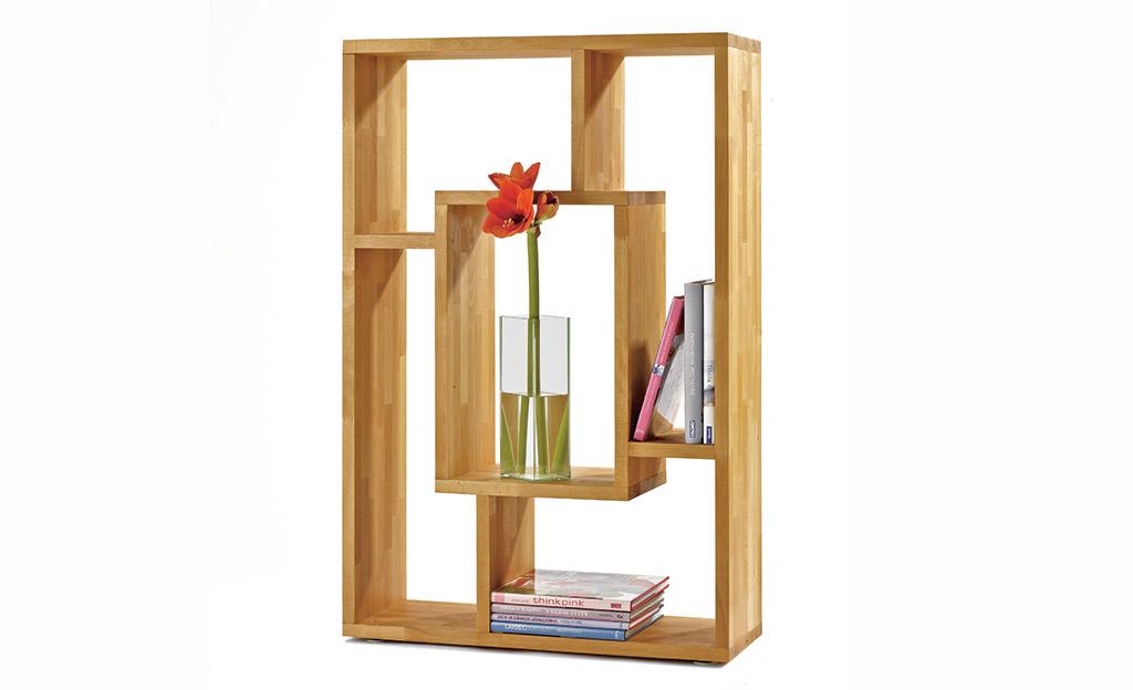 eiche regal. Black Bedroom Furniture Sets. Home Design Ideas