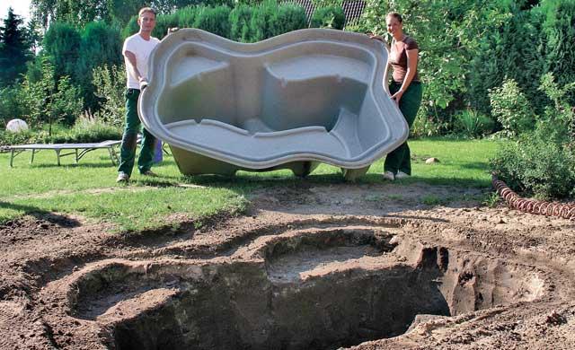Teichschale Eingraben Anleitung Schwimmbad Und Saunen