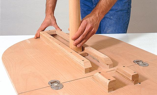 klapptisch selber bauen | tische & sitzmöbel | selbst.de, Garten und Bauen