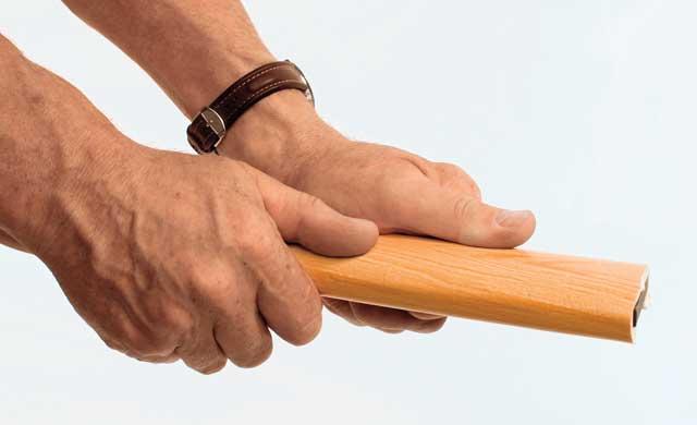 Bekannt Treppengeländer: Handlauf erneuern | selbst.de YP42