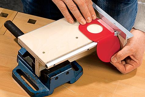 Handyhalterung aus Plexiglas - Schritt 5 von 5