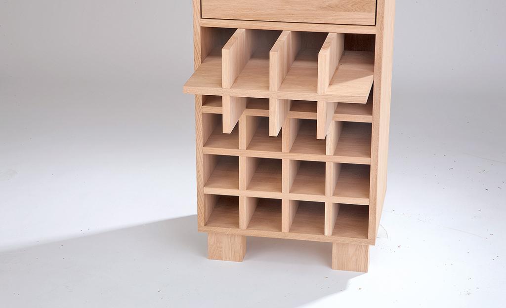 Holz Weinregal Selbst De