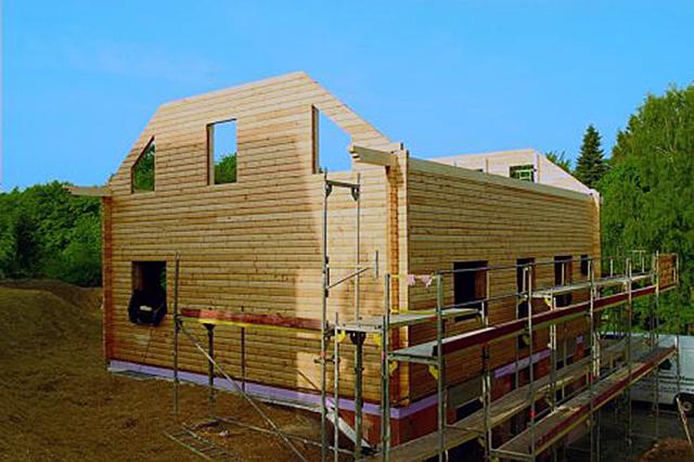 Holzhaus bauen   selbst.de