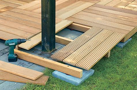 Bauanleitung: Holzterrasse montieren – Schritt 6 von 18