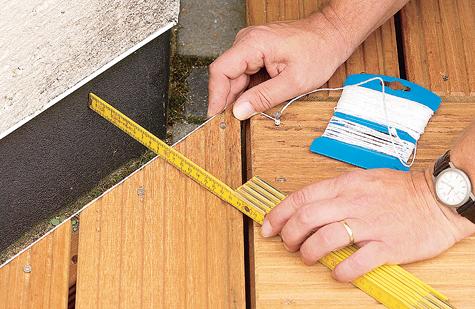 Bauanleitung: Holzterrasse montieren – Schritt 11 von 18