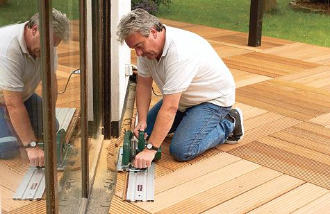 Bauanleitung: Holzterrasse montieren – Schritt 12 von 18