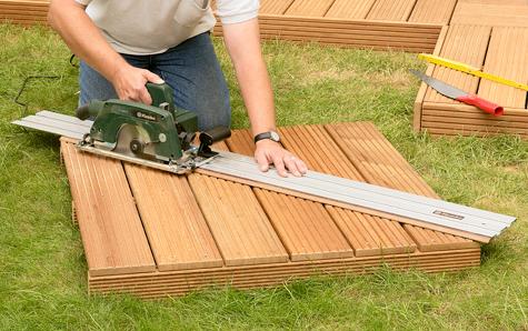 Bauanleitung: Holzterrasse montieren – Schritt 18 von 18