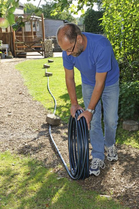 Wasserversorgung im Garten mit Marleys Kaltwassersystem