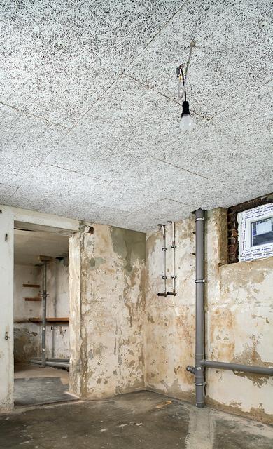 Kellerdecken-Wärmedämmung