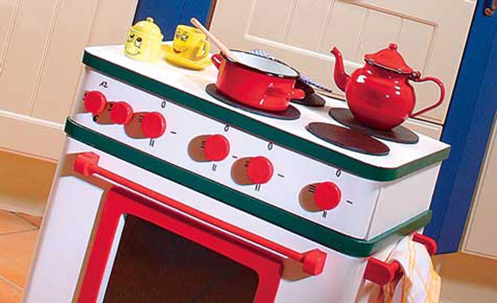 kinderküche selber bauen | kindermöbel | selbst.de - Kinder Küche Selber Bauen