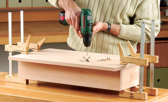 Küchenregal mit Korb-Schubladen | Schränke & Regale | selbst.de | {Küchenregal selber bauen 62}