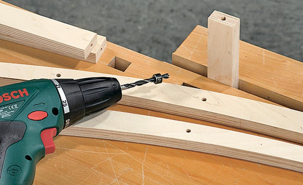 Leiter Handtuchhalter Holzarbeiten & Möbel