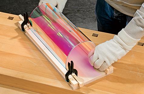 Turbo Acrylglas biegen | selbst.de JO05