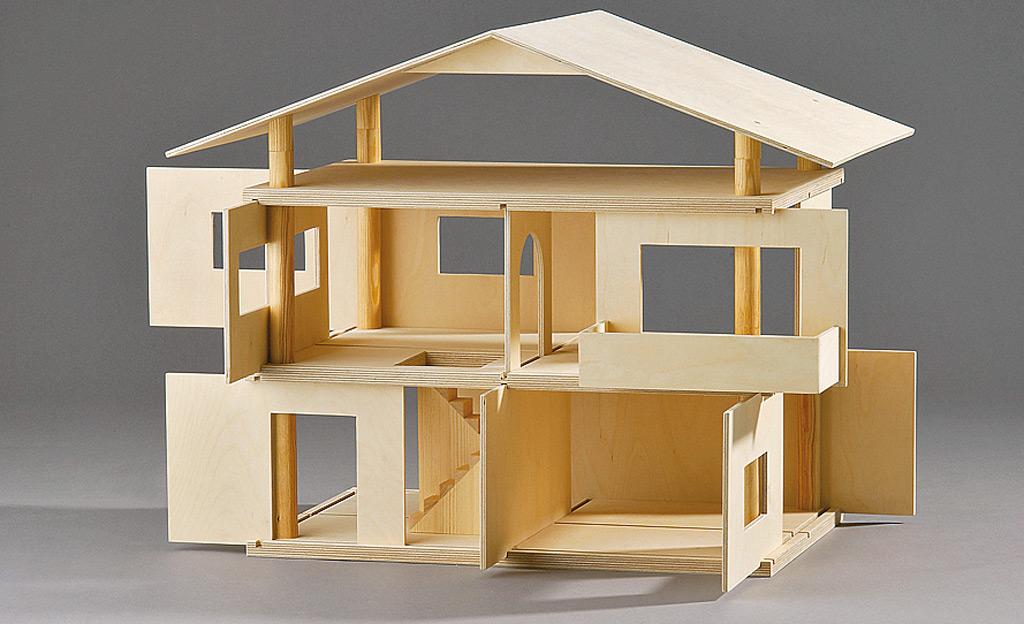 Bekannt Puppenhaus selber bauen | selbst.de ZS58