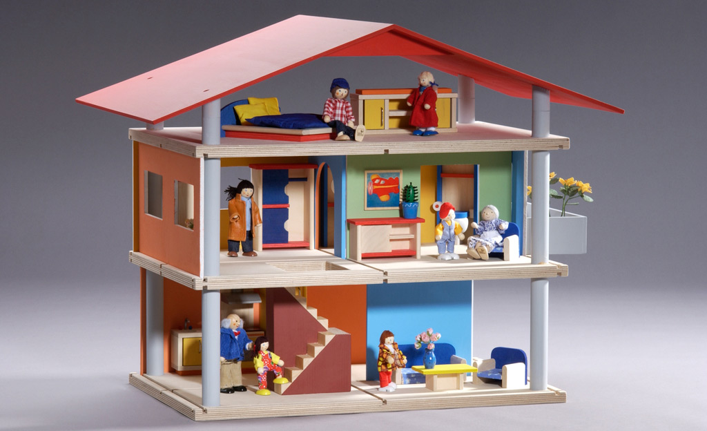 puppenhaus selber bauen. Black Bedroom Furniture Sets. Home Design Ideas
