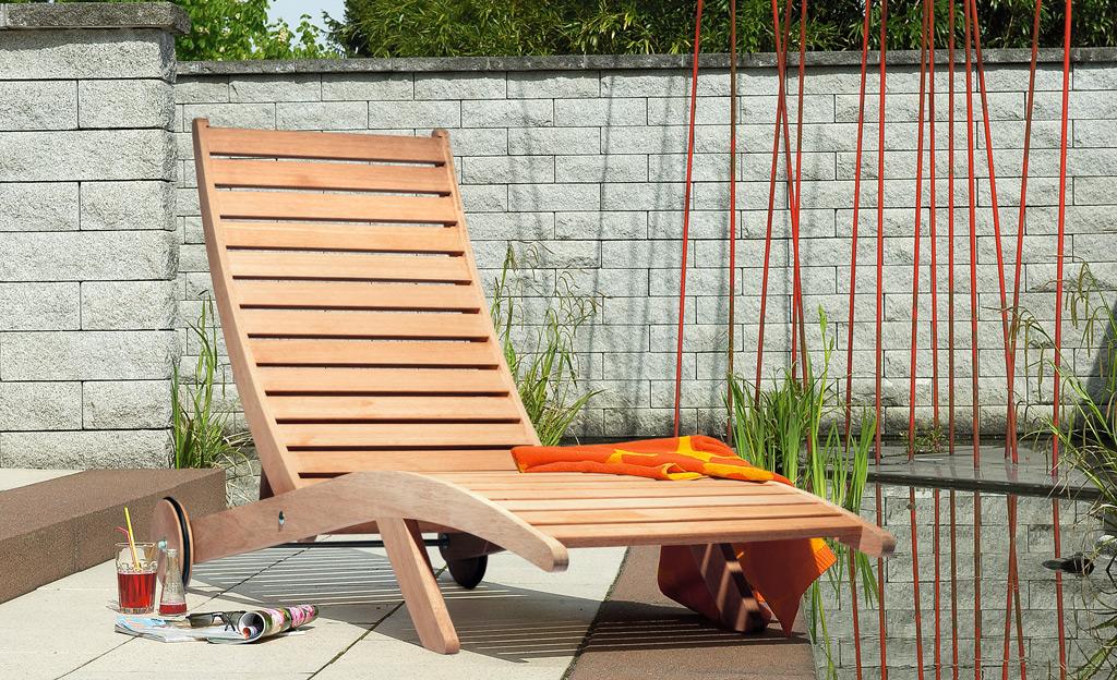 Relaxliege - Liegestuhl selber bauen ...