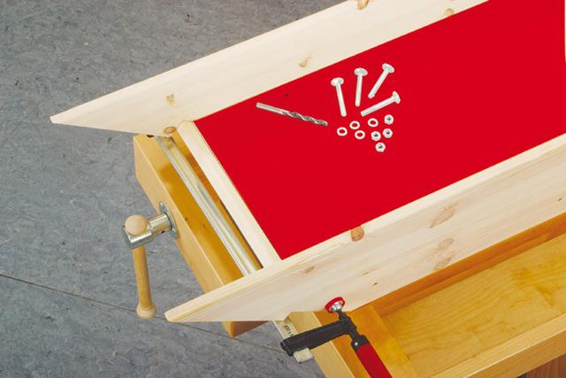 bauanleitung rutsche zum hochbett bauen kinderm bel bild 9. Black Bedroom Furniture Sets. Home Design Ideas