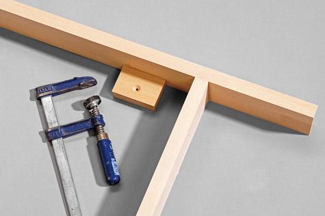 Bauanleitung Schreibtisch bauen – Schritt 3 von 7