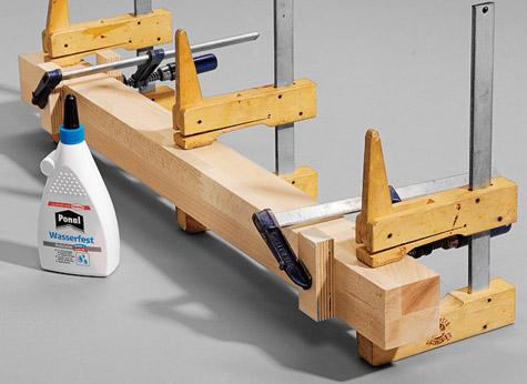 Bauanleitung Schreibtisch bauen – Schritt 4 von 7