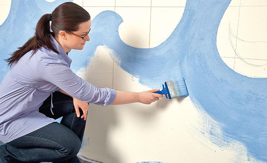 kinderzimmer-wandmalerei | maltechniken | selbst.de - Kinderzimmer Maritim Streichen