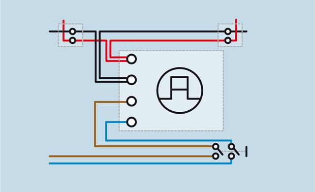 Schaltplan LED-Leuchte