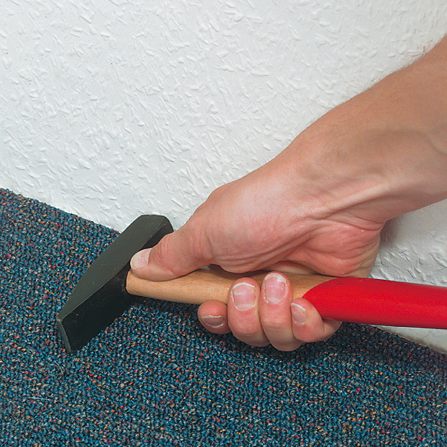Teppichboden verkleben