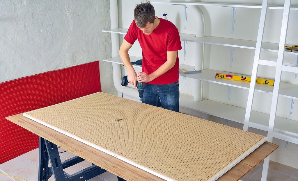 Wandschrank: Schiebetür bauen