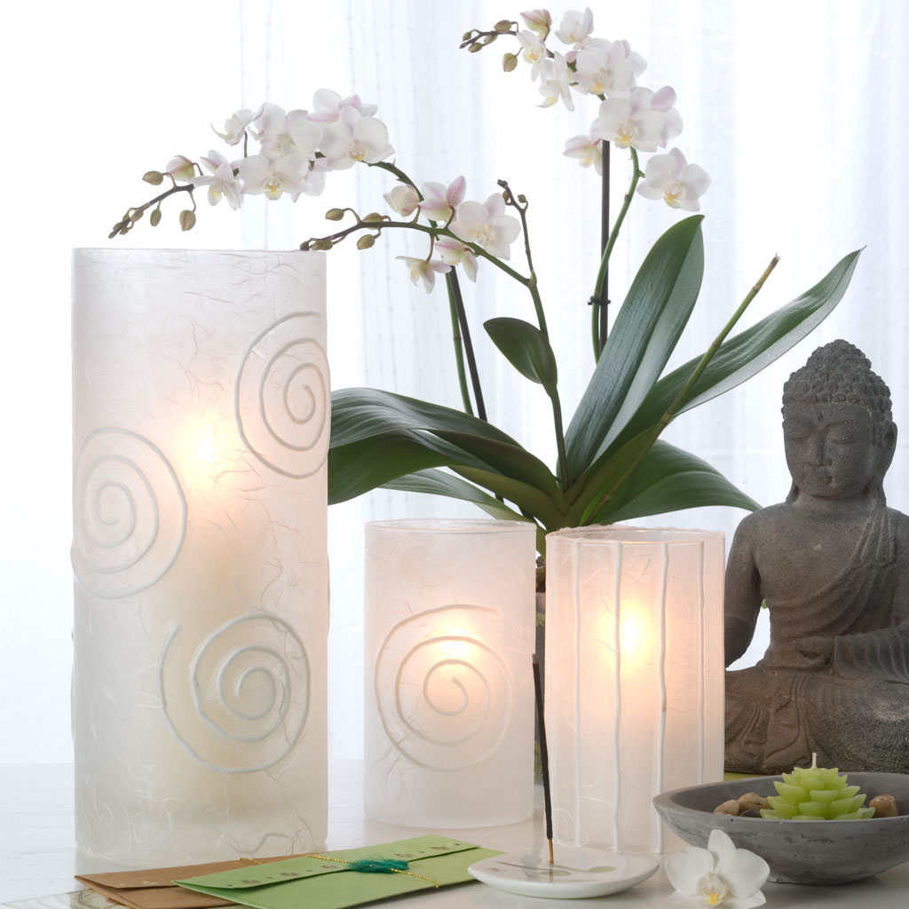 papier windlichter basteln. Black Bedroom Furniture Sets. Home Design Ideas