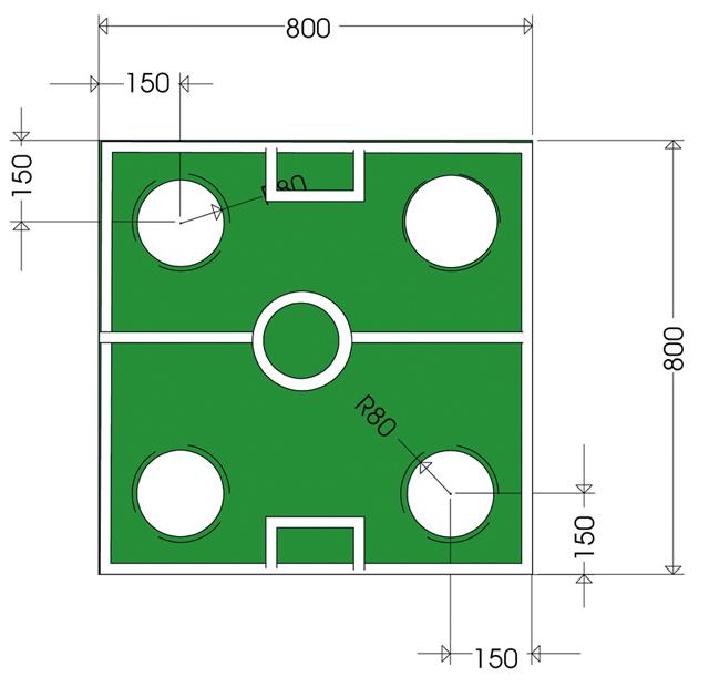 Zeichnung: WM-Tisch