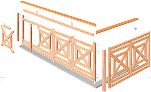 gel nder selbst bauen holzarbeiten m bel. Black Bedroom Furniture Sets. Home Design Ideas