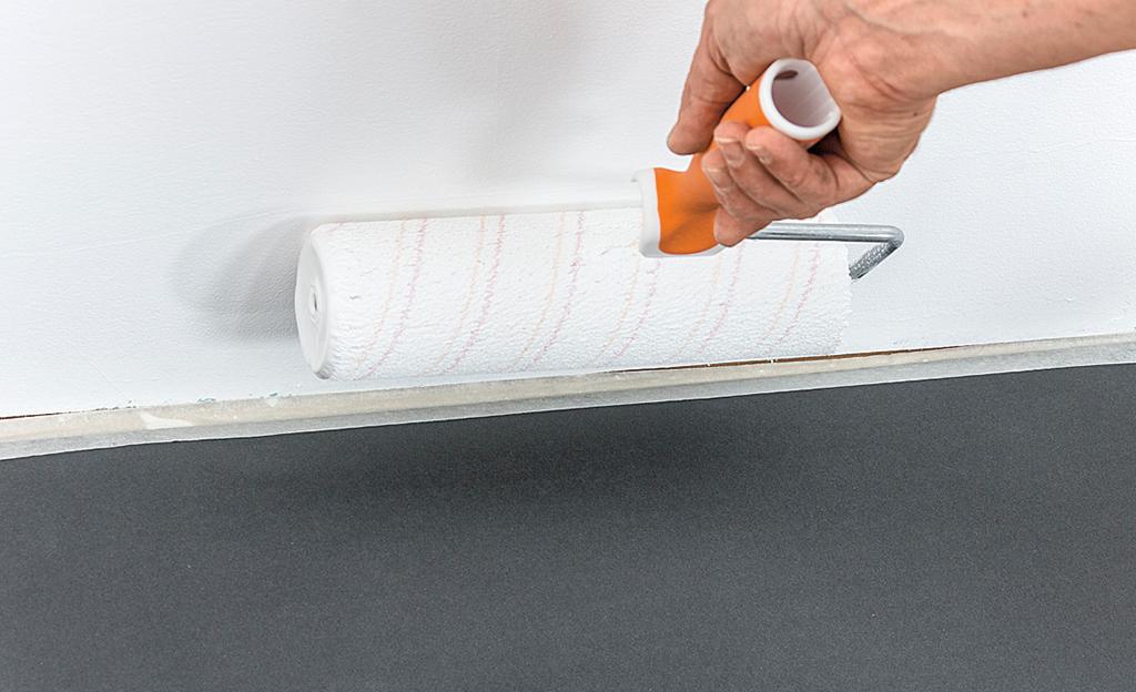 spritzfreie farbe von alpina lackieren streichen. Black Bedroom Furniture Sets. Home Design Ideas