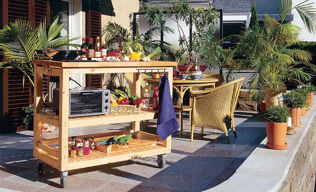 Schrank Für Außenküche : Außenküche selbst