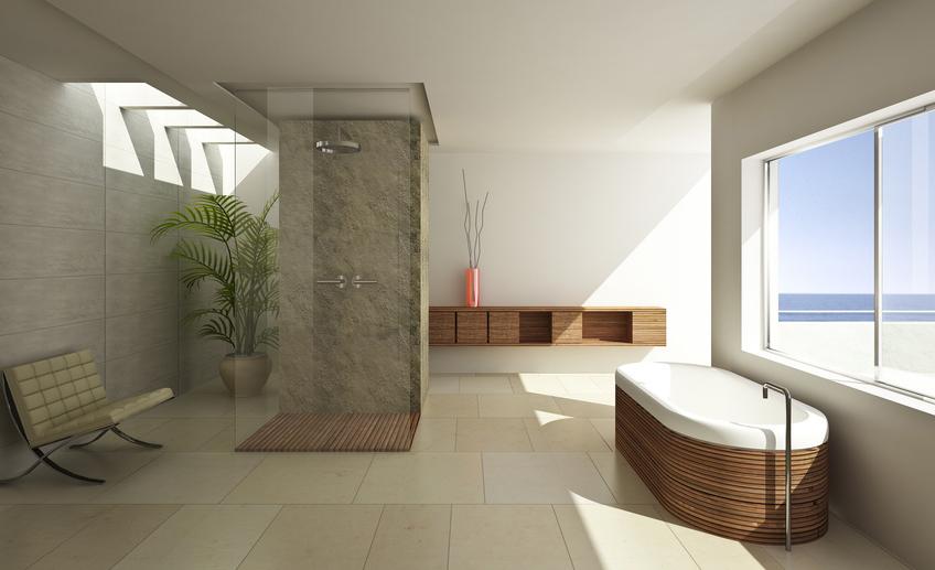Das Moderne Badezimmer Wellness Design