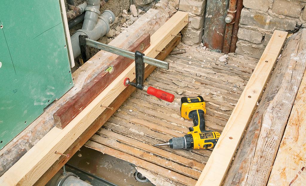 Fußboden Ausgleichen Trocken ~ Holzbalkendecke ausgleichen selbst