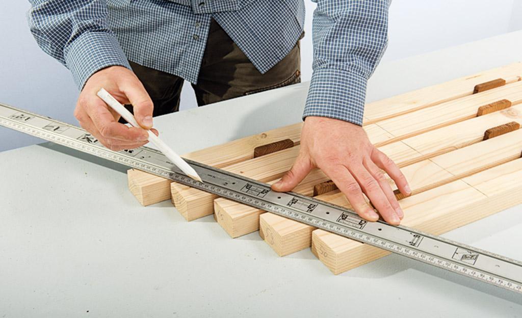Baumbank bauen