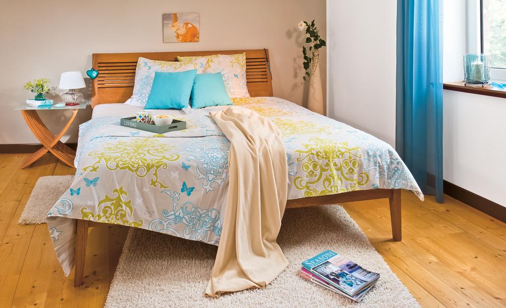 Bauplan: Doppelbett