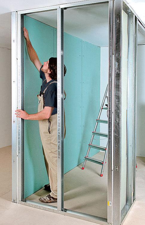 Begehbaren Kleiderschrank selber bauen | selbst.de