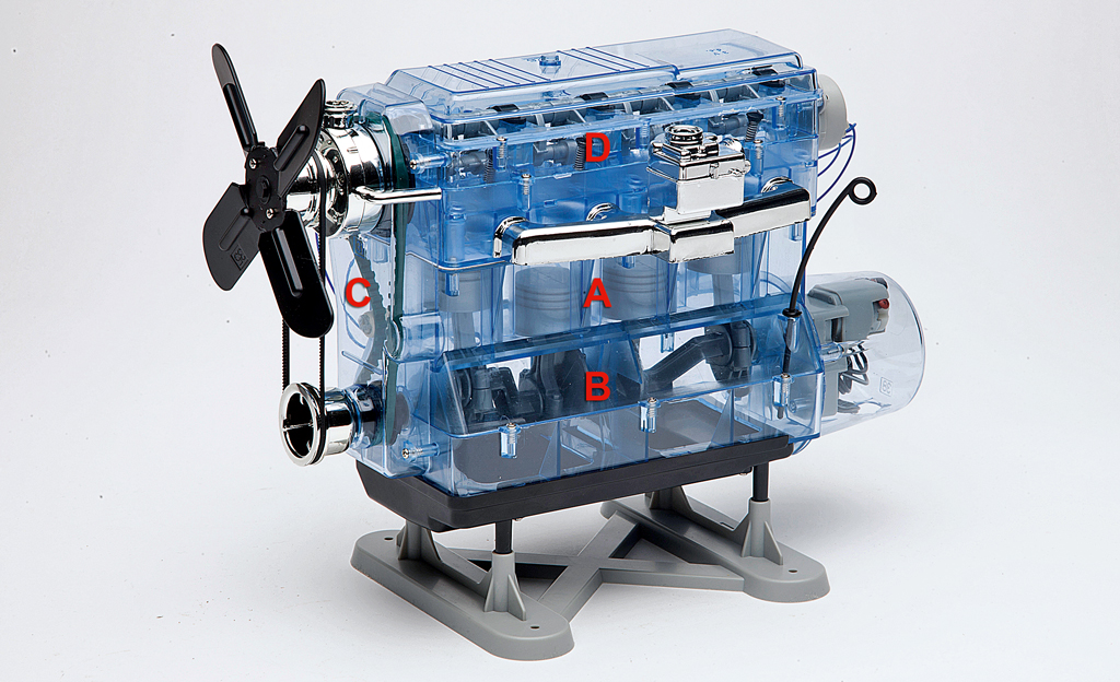 Wie funktioniert ein Verbrennungsmotor?