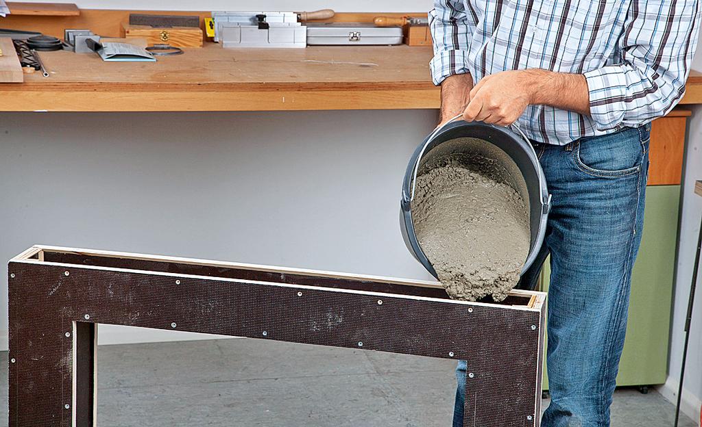 Super Beton-Esstisch | selbst.de UZ15