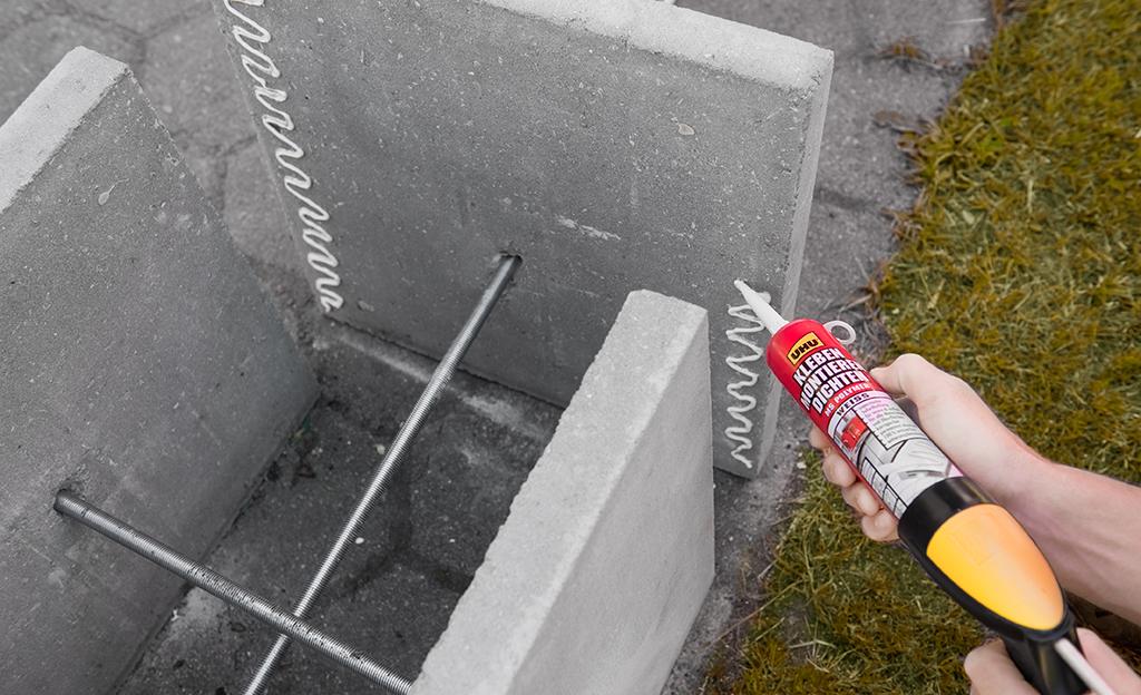 sitzbank aus beton selber machen – colorseven, Garten und erstellen